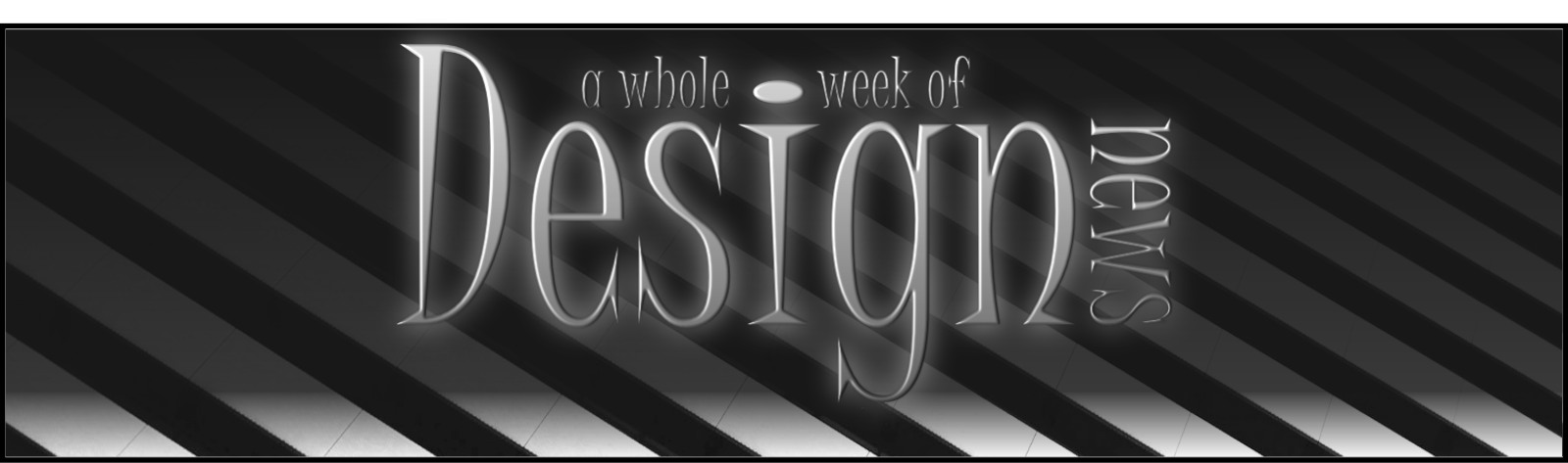 Design Weekly News - Header banner